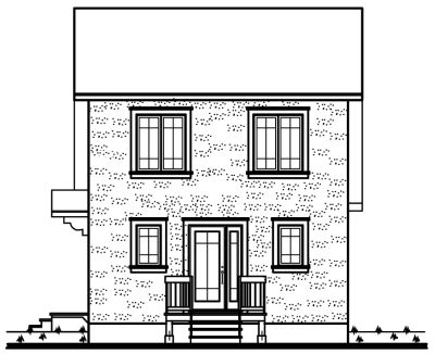 Rear Elevations Plan:5-273