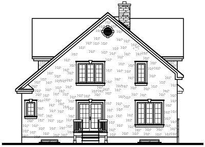 Rear Elevation Plan: 5-274