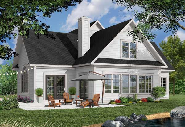Country Style Floor Plans