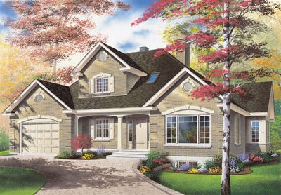 European Style House Plans Plan: 5-276