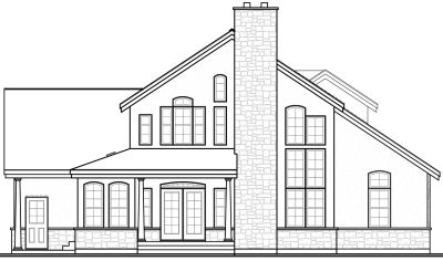 Rear Elevation Plan: 5-278