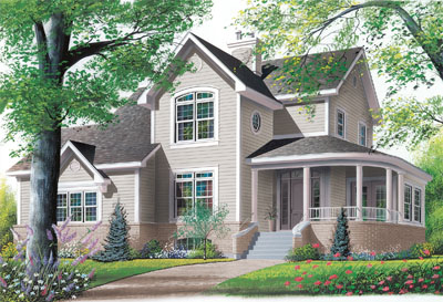 Southern Style House Plans Plan: 5-280