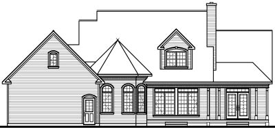 Rear Elevations Plan:5-281
