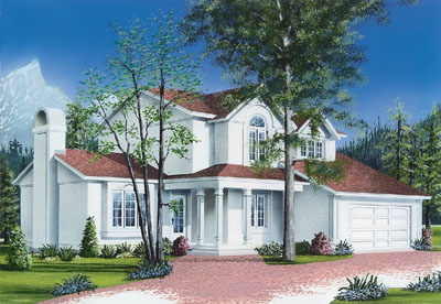 European Style Floor Plans Plan: 5-283