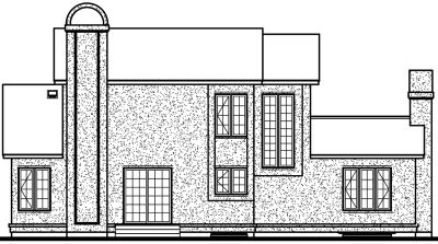 Rear Elevation Plan: 5-283