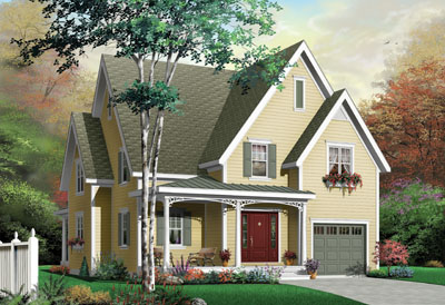 Country Style House Plans Plan: 5-289