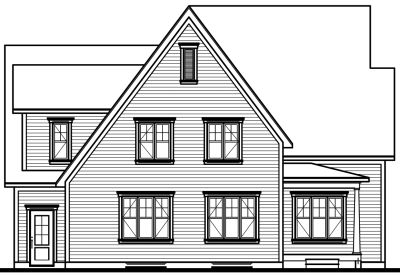 Rear Elevation Plan: 5-293