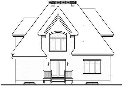 Rear Elevation Plan: 5-294