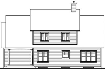 Rear Elevations Plan:5-296