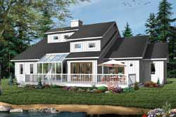 Contemporary Style Floor Plans Plan: 5-297