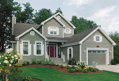 Traditional Style Home Design Plan: 5-298