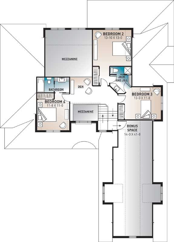 Upper/Second Floor Plan: 5-304