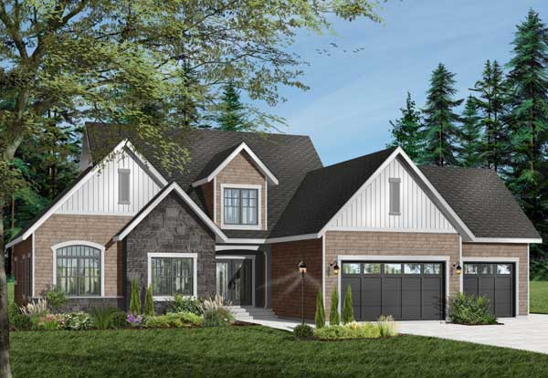 Traditional Style House Plans Plan: 5-305