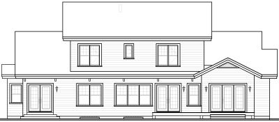Rear Elevation Plan: 5-306