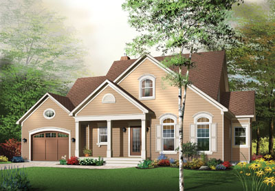 Traditional Style House Plans Plan: 5-307