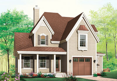 Country Style House Plans Plan: 5-309