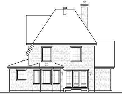 Rear Elevation Plan: 5-309