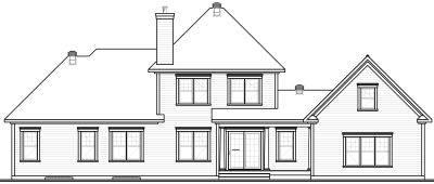 Rear Elevation Plan: 5-311