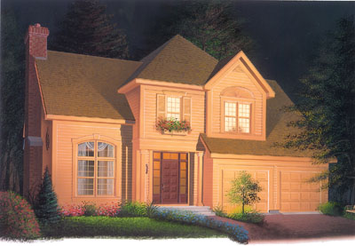Traditional Style House Plans Plan: 5-313