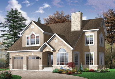Traditional Style Floor Plans Plan: 5-314
