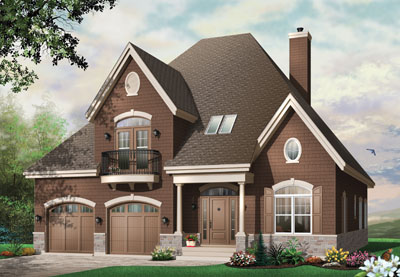 Traditional Style House Plans Plan: 5-315