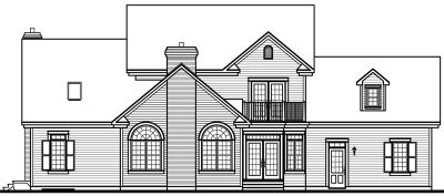 Rear Elevation Plan: 5-317