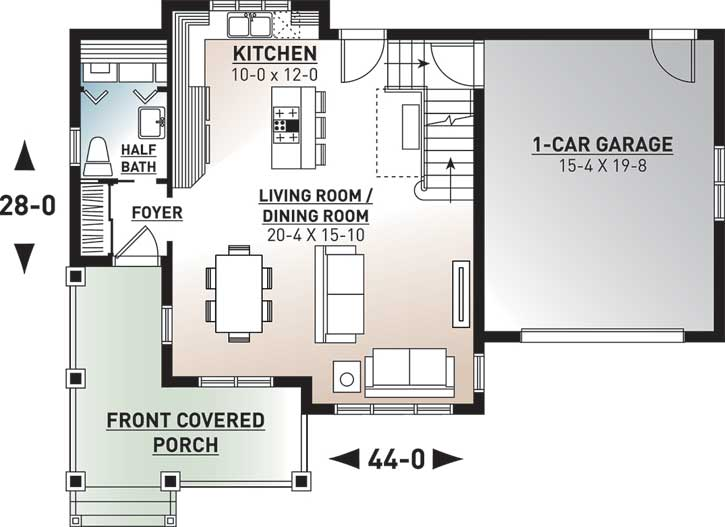 Main Floor Plan: 5-320