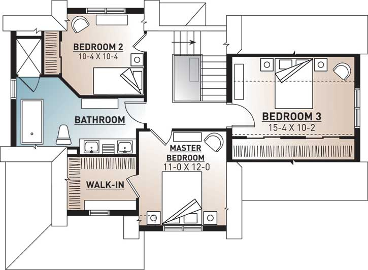 Upper/Second Floor Plan:5-320