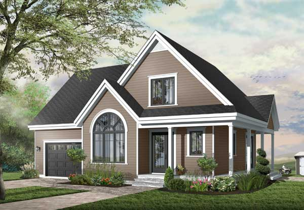 Traditional Style Home Design 5-322