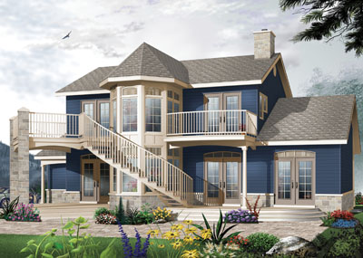 Traditional Style House Plans Plan: 5-324