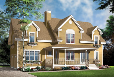Traditional Style House Plans Plan: 5-325