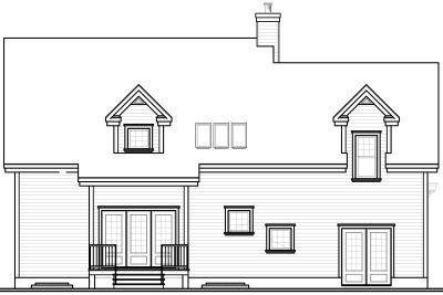 Rear Elevations Plan:5-325