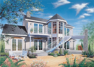 Traditional Style Floor Plans Plan: 5-326