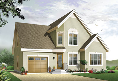 Traditional Style Floor Plans Plan: 5-327