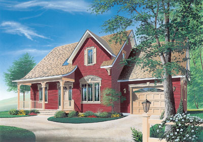 Country Style House Plans Plan: 5-328