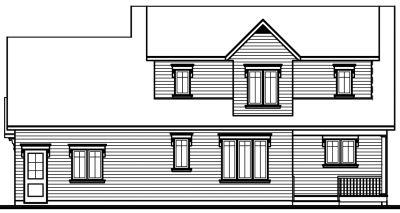 Rear Elevation Plan: 5-328