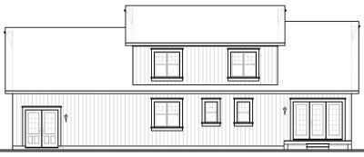 Rear Elevations Plan:5-329