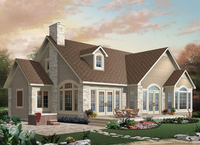Traditional Style House Plans Plan: 5-331