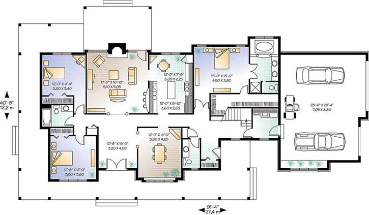 Main Floor Plan: 5-333