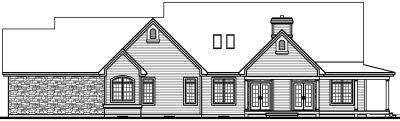 Rear Elevation Plan: 5-333