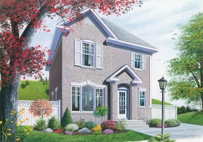 European Style House Plans Plan: 5-336