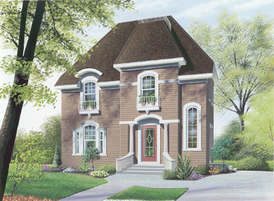 European Style House Plans Plan: 5-339