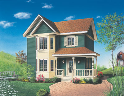 Country Style House Plans Plan: 5-342