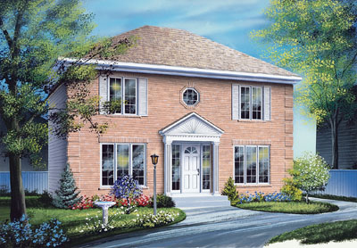European Style Floor Plans Plan: 5-355