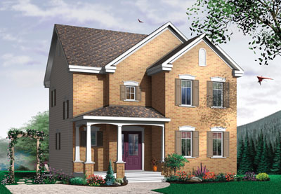 Traditional Style House Plans Plan: 5-358