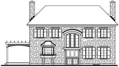 Rear Elevation Plan: 5-359