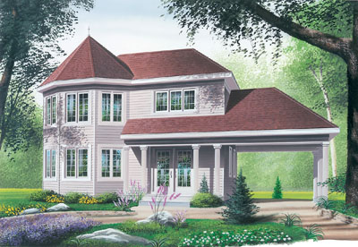 Traditional Style Home Design 5-371