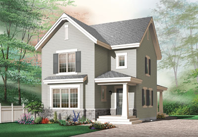 Traditional Style House Plans Plan: 5-372