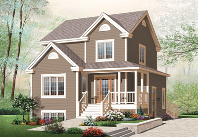 Traditional Style Floor Plans Plan: 5-381