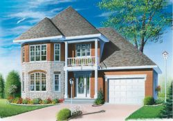 Traditional Style Floor Plans Plan: 5-391